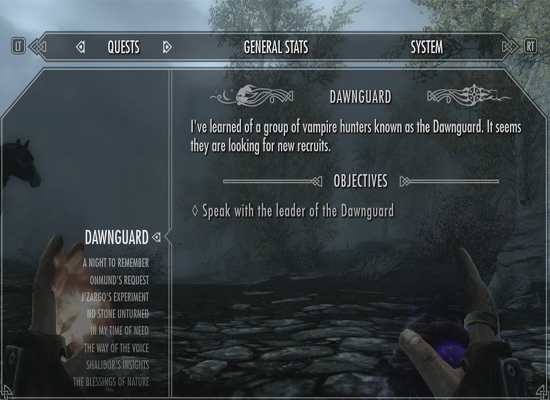 How To: Find The Dawnguard Quest in Skyrim - PanicGamer com