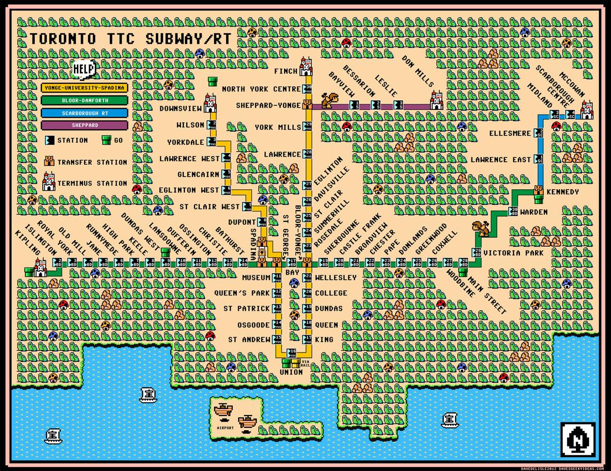 Super Mario Bros 3 Mapa Map in Super Mario Bros 3
