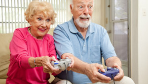 ElderlyPlaying